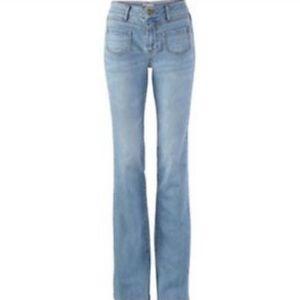Cabi Malibu flare jeans, size 6